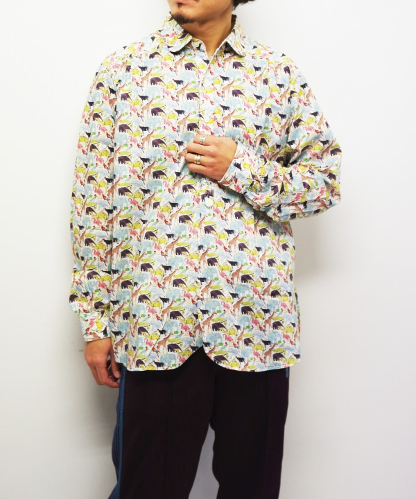 Needles/ニードルズ Round Collar EDW Gather Shirt - Liberty Print(全2色)