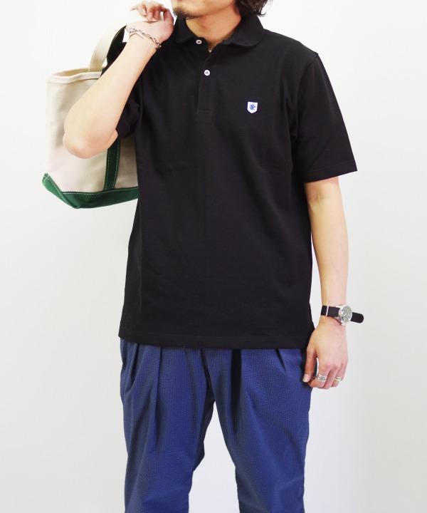 Glacon/グラソン Round Collar Polo (全2色)