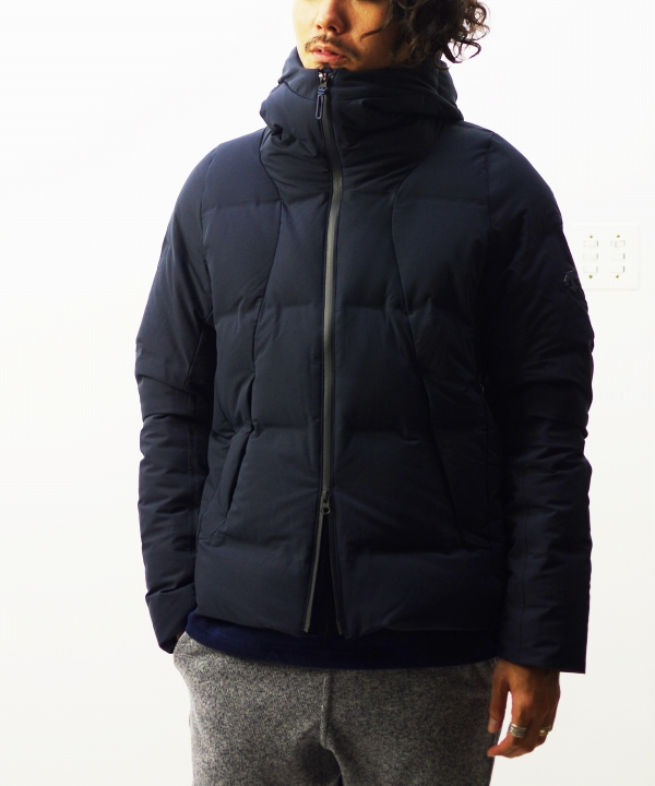 "DESCENTE ALLTERRAIN/デサント オルテライン MIZUSAWA DOWN JACKET ""SHUTTLE"" - GRAPHITE NAVY"
