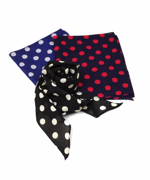 Bohemians/ボヘミアンズ SNOW DOTS LARGE STOLE