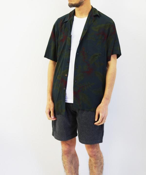 TWO PALMS/ツーパームス S/S Hawaiian Shirt / Rayon Garment Dye (全2色)