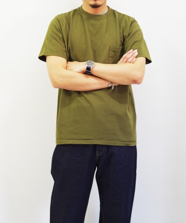 Goodwear/グッドウェア SS POCKET TEE (全4色) 【MAPSの定番】