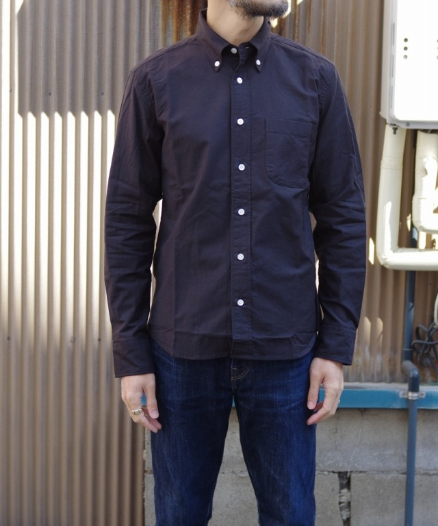 Manual Alphabet/マニュアルアルファベット SUPIMA OX BD SHT/Suitable Fit - BLACK 【MAPSの定番】