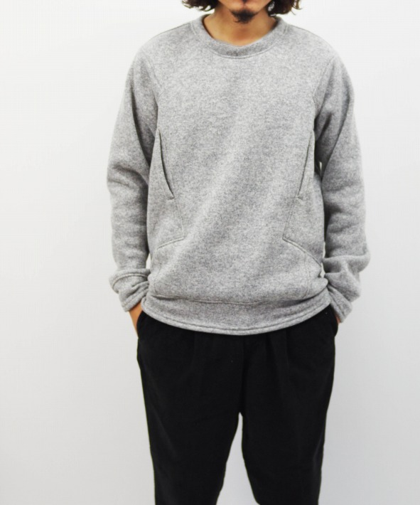 tilak/ティラック (Poutnik The Urban Traveler by Tilak) Sage Woolly Sweatshirts