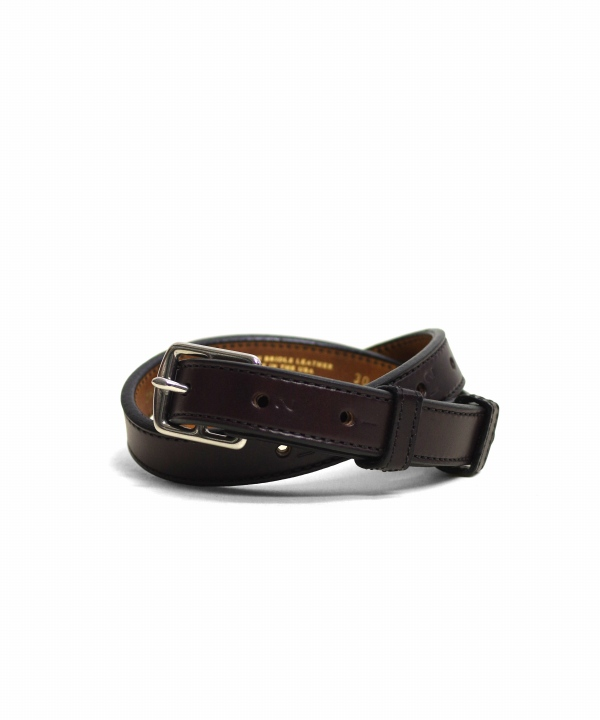TORY LEATHER/トリーレザー Harness Leather Belt - STEEL