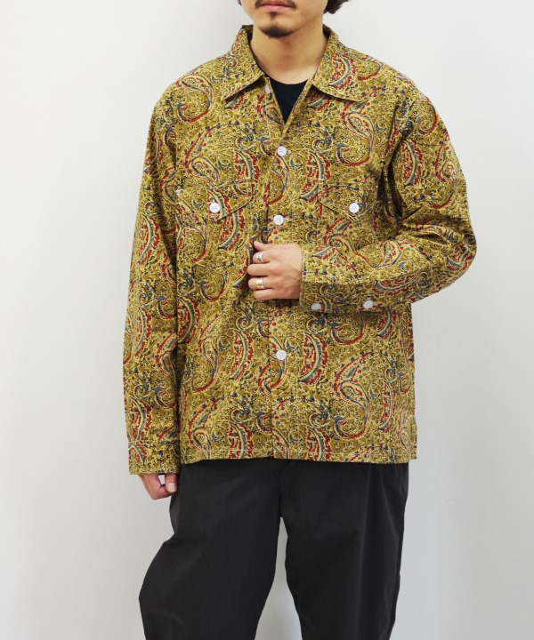 South2 West8/サウス2 ウエスト8 Smokey Shirt - Printed Flannel / Paisley(全2色)