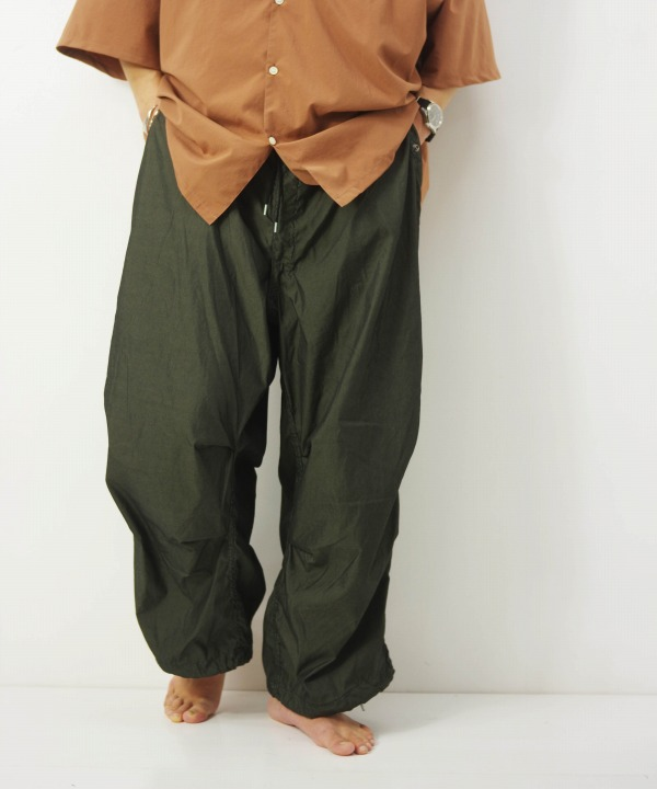 MILITARY/ミリタリー US SNOW CAMO PANTS With Poket -Over Dye