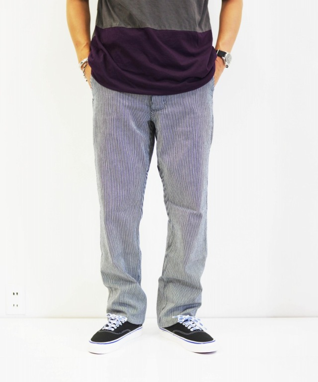 Sassafras/ササフラス Sprayer Pants - 8oz Hickory