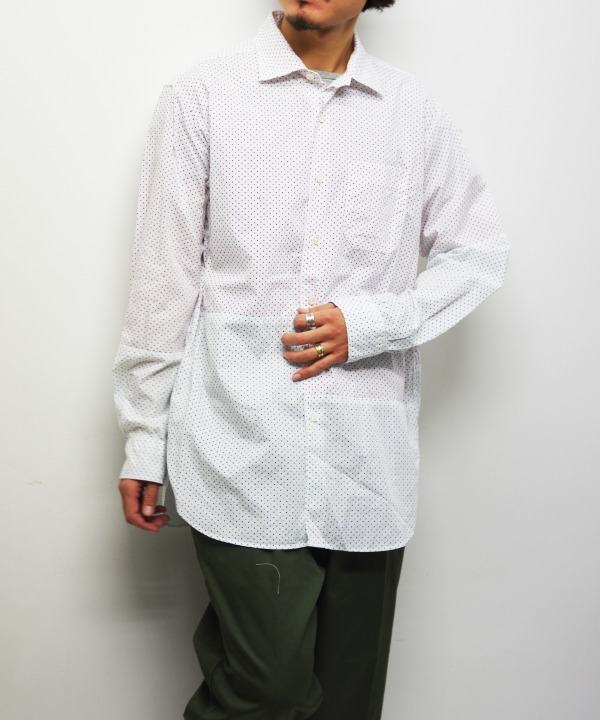 Engineered Garments/エンジニアド ガーメンツ Spread Collar Shirt - Small Polka Dot