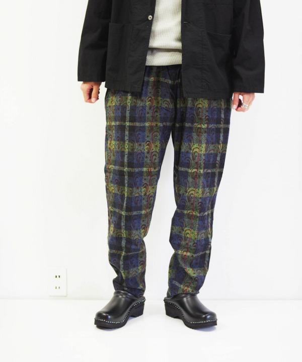 South2 West8/サウス2 ウエスト8 String Slack Pant - Batik Over Print