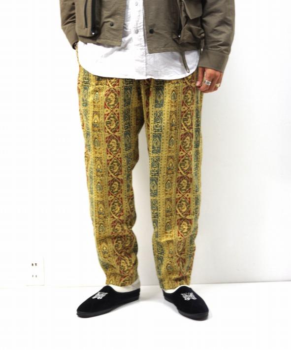 South2 West8/サウス2 ウエスト8 String Slack Pant - Batik Pt.
