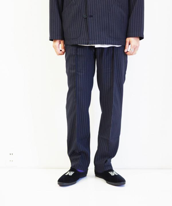 the conspires/コンスパイアーズ Striped UT Pant