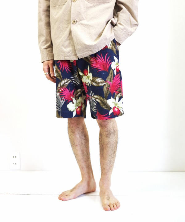 Engineered Garments/エンジニアド ガーメンツ Sunset Short - Hawaiian Floral Java Cloth