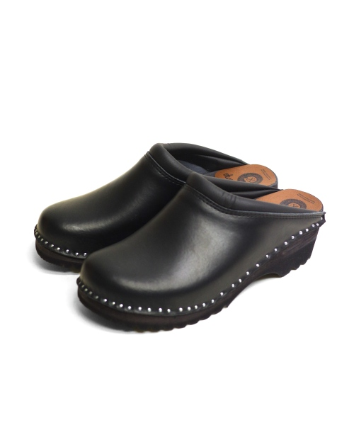Troentorp/トロエントープ Swedish Clog - Plain Toe / Smooth (全2色)