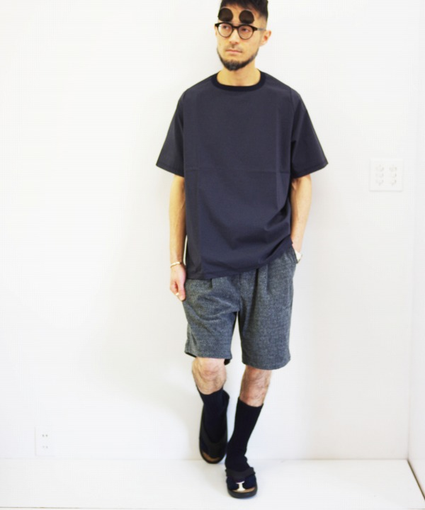tHING FABRICS/シングファブリックス TF 1 tuck Short Pant