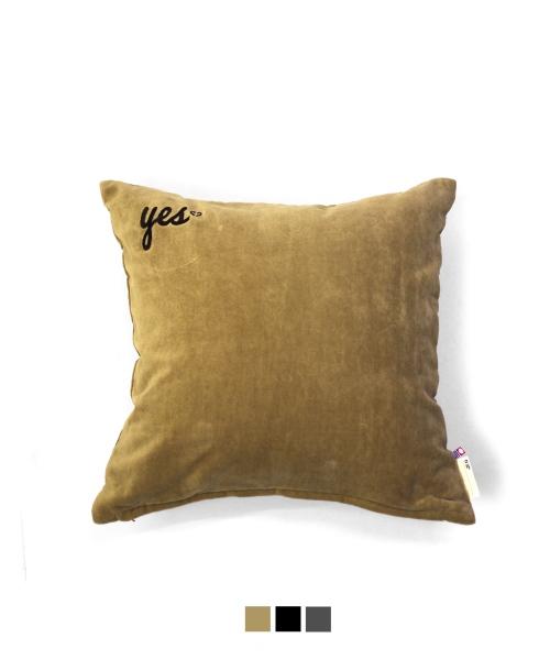 tHING FABRICS/シングファブリックス TF YES NO Cushion