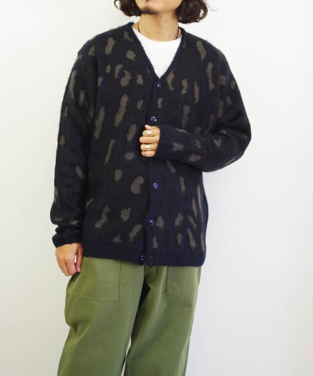 タウンクラフト/TOWNCRAFT    shaggy jacqaurd cardigan