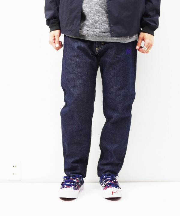 Needles x Lee/ニードルズ x リー Tapered Jean - 13oz Denim / Non Wash
