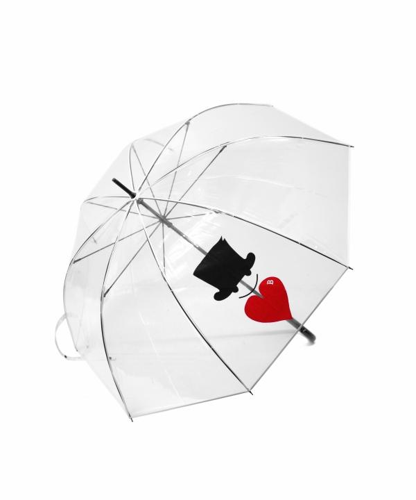 Bohemians/ボヘミアンズ UMBRELLA - LOVE & HAT PT (全2色)