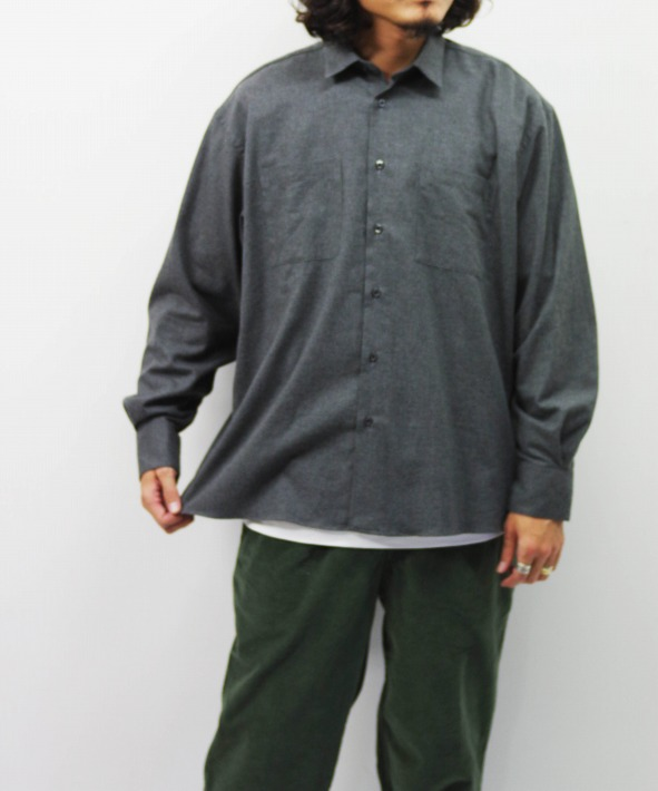 INDIVIDUALIZED SHIRTS/インディビジュアライズドシャツ UNIFORM SHIRTS - HERRINGBONE
