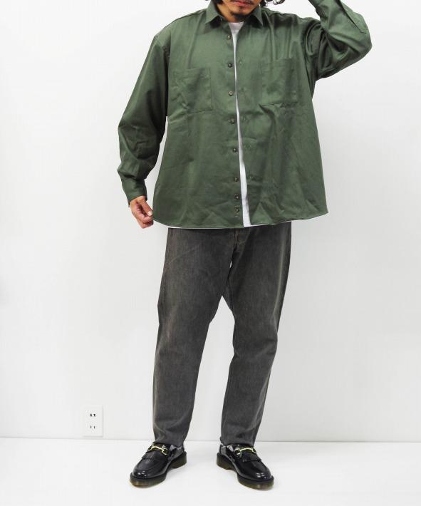INDIVIDUALIZED SHIRTS/インディビジュアライズドシャツ UNIFORM SHIRTS - TWILL