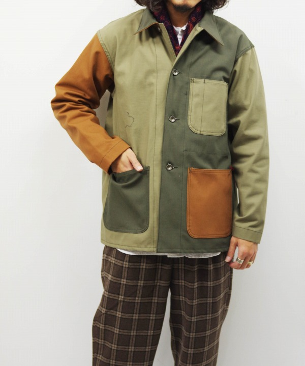 Engineered Garments Workaday/エンジニアド ガーメンツ ワーカデイ Utility Jacket Combo - Cotton Ripstop