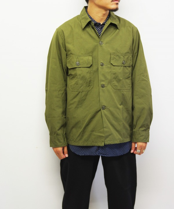 A Vontade/ア ボンタージ Utility Shirt (全2色) 【MAPSの定番】