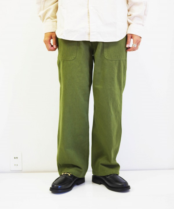 HATSKI/ハツキ Utility Trouser