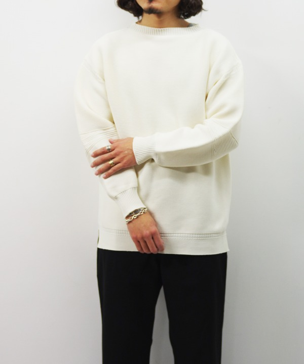 melple/メイプル WHOLEGARMENT Guernsey Knit (全2色)