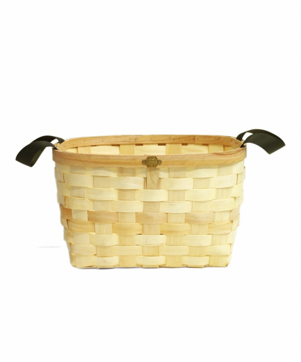 PUEBCO/プエブコ WOODEN BASKET NATURAL Rectangle