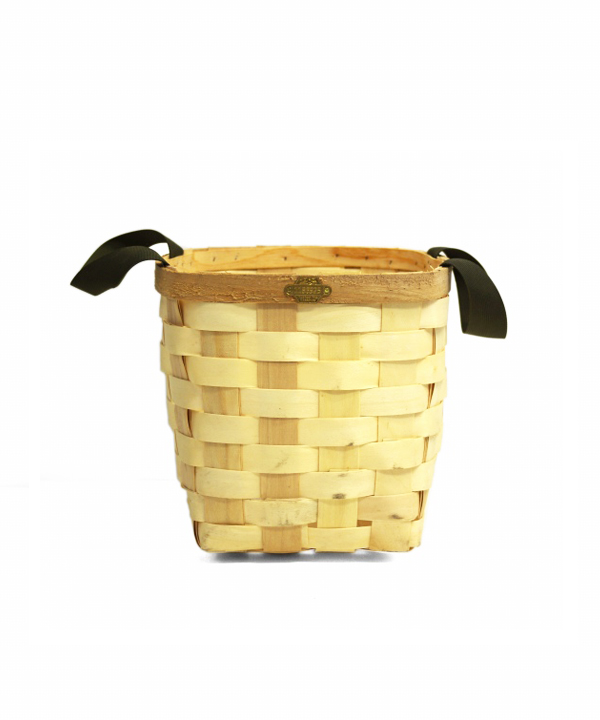 PUEBCO/プエブコ WOODEN BASKET NATURAL Square