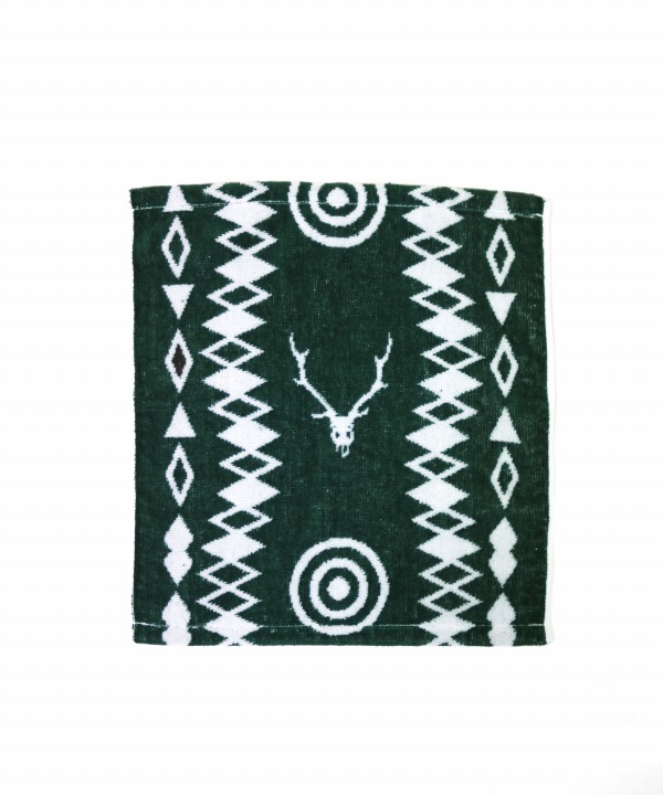South2 West8/サウス2 ウエスト8 Wash Towel - Cotton Jacquard / Target & Skull