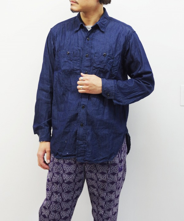 Engineered Garments/エンジニアド ガーメンツ Work Shirt - 4.5oz Denim