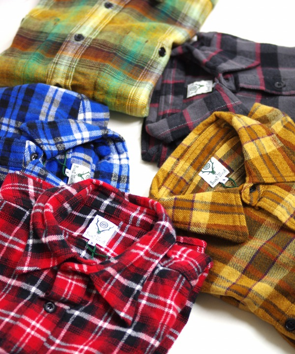 South2 West8/サウス2 ウエスト8 Work Shirt - Cotton Twill / Plaid