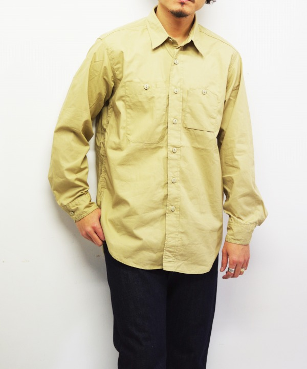 Engineered Garments/エンジニアド ガーメンツ Work Shirt - Superfine Poplin