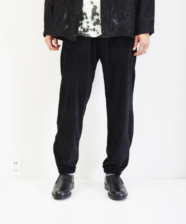 Needles/ニードルズ Zipped Sweat Pant - C/Pe Velour (全2色)