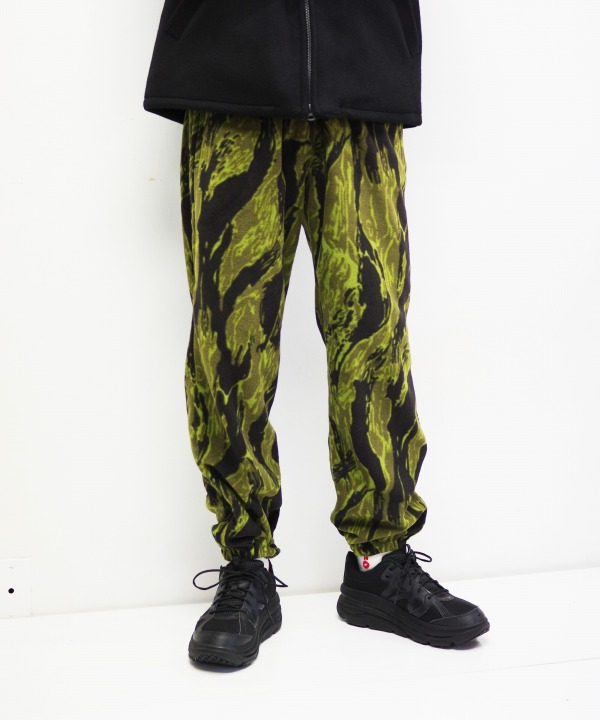 Needles Sportswear/ニードルズ スポーツウェア Zipped Warm-up Pant - Tiger Camo