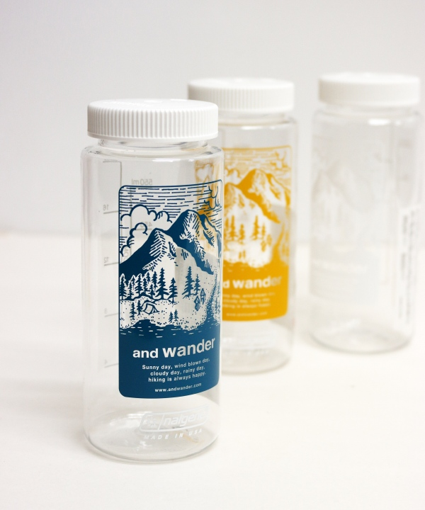 and wander/アンドワンダー and wander nalgene bottle