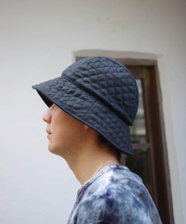 マチュアーハ/mature ha. quilting hat