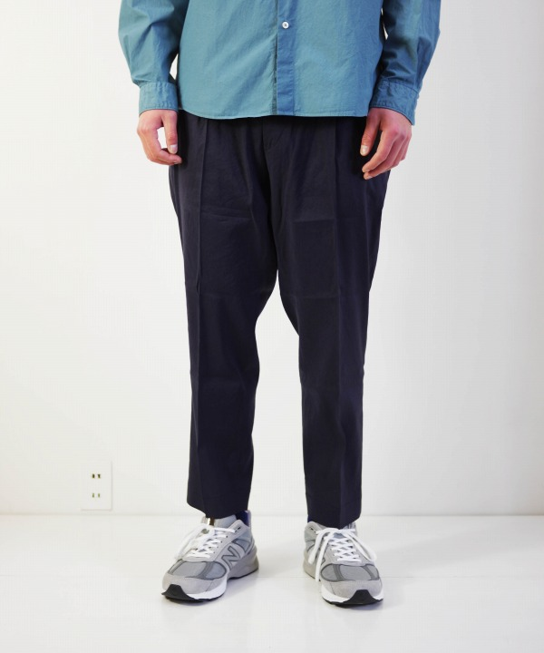 melple/メイプル Tomcat Vacation Relax Pants-Linen (全3色)