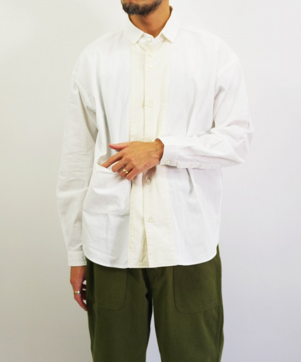 nisica/ニシカ 切り替えシャツ