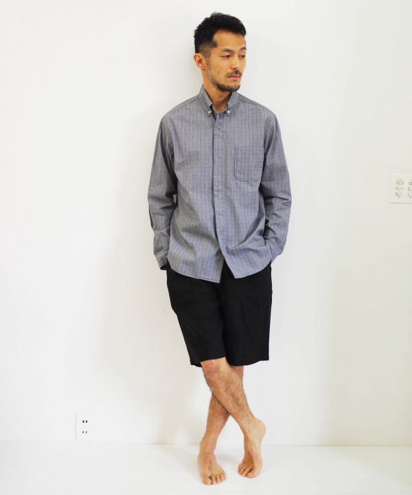 nisica/ニシカ  BDシャツ - グレンチェック