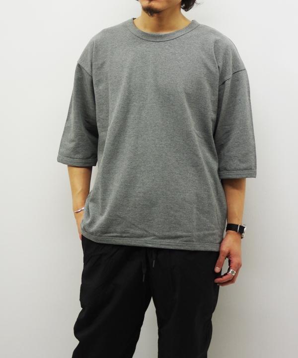 quotidien/コティディアン 鹿の子 5分袖 TEE(全6色)