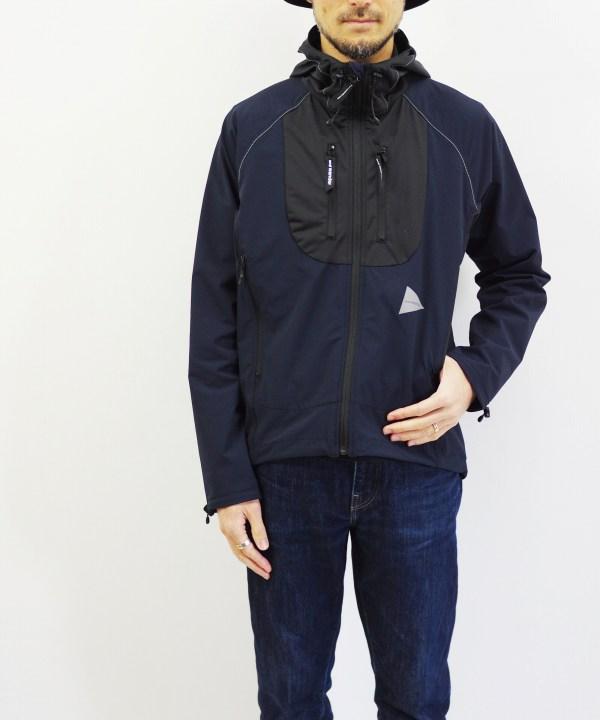 and wander/アンドワンダー trek jacket 2