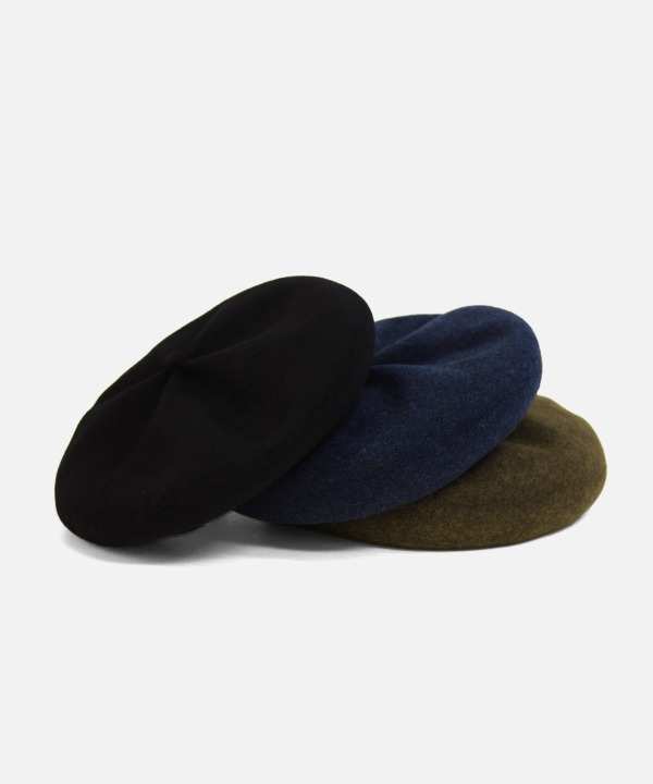 mature ha./マチュアーハ beret top gather big