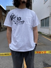 Engineered Garments/エンジニアド ガーメンツ Printed Cross Crew Neck T-shirt - Floral (全3色)