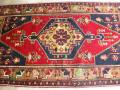 カイセリヤヒヤルオールド じゅうたん221x115cm手織りラグ
