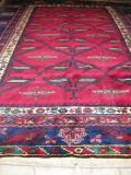 ドシャメアルトゥーオールド じゅうたん291x225cm手織りラグ