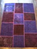 トルコ絨緞 パッチワーク オールド・アンティーク  リビングサイズ 200x140cm