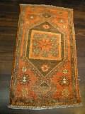 トルコ絨毯玄関マットシヴァス産